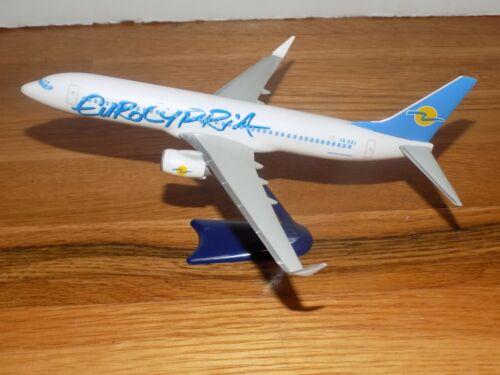 "Eurocypria 5B-DBV Desk Model Airplane 7"" long"