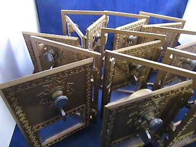 Vintage Post Office Box Doors  10 Each   Sale