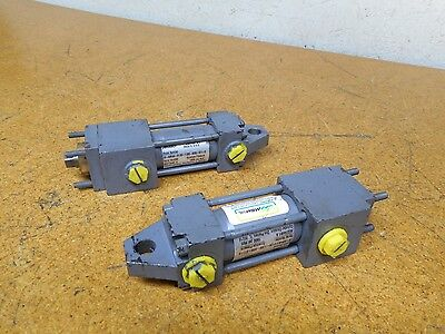 Miller Jv-90r4n-01.00-1.000-0050-s11-9 Pneumatic Cylinders 1900psi Used 2 Lot