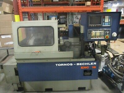 Tornos-bechler Model Enc 16 Cnc Swiss-type Latheas-pictured1st-come-1st-served