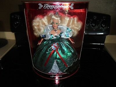 Happy Holidays Special Edition 1995 Barbie Doll   14123 New In Box