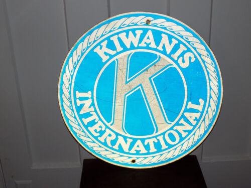 Kiwanis International Metal Sign