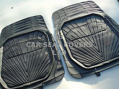 i   TO FIT A FORD RANGER CAR MATS ALL TERRAIN HEAVY PVC MH 002 BLACK