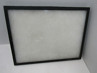 Old Small Glass Frame Display Case Shadow Box Table Display