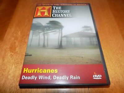 HURRICANES Hurricane STORMS Storm Disaster Weather Flood History Channel LN DVD