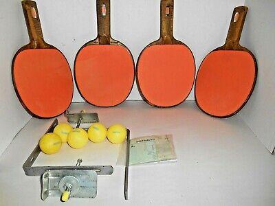 Sets Vintage Table Tennis