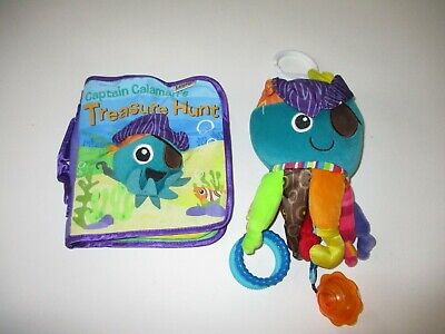 Lamaze Pirate & Book Developmental Baby Toy Lot