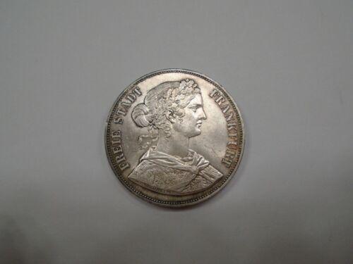 1861 German States FRANKFURT AM MAIN 2 THALER  KM# 365 Unc