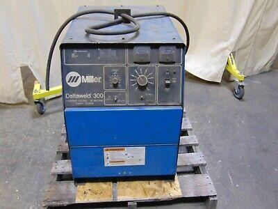 Miller Deltaweld 300 Welder 300 Amp Dc Welding Power Supply 100 Duty Cycle