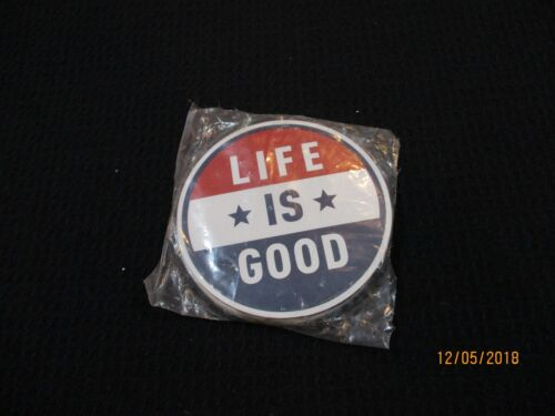 "Life is Good Magnet Americana LiG Sph Misc 4"" NEW"