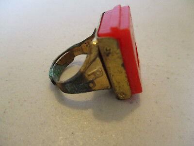 1940s Jewelry Styles and History Vintage 1940S Roy Rogers Toy Photo of Roy Inside Cereal Premium Brass Ring! $24.99 AT vintagedancer.com