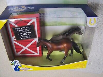 Breyer Stablemates Mystery Foal Surprise Grullo Reiner and Bay Dungaree - NIB