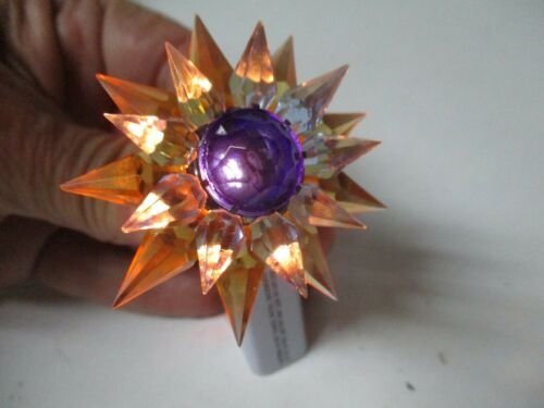 1930s C-6 Double MATCHLESS STAR Light - Amber Blue Cobalt - 500 Size - #2