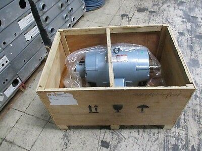 Imperial Electric Ac Motor W Brake 326eav030k021 30hp 1170rpm 480v New Surplus