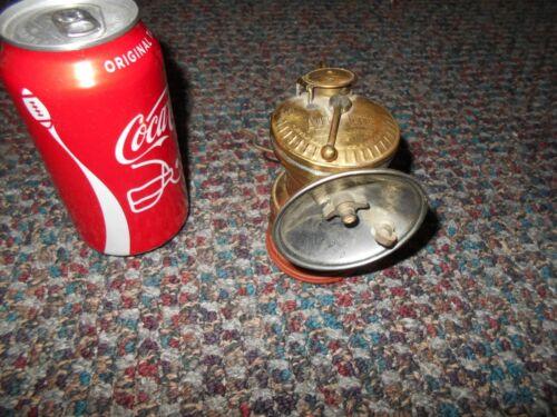 VINTAGE ANTIQUE AUTO-LITE - CARBIDE-  COAL MINER LAMP BRASS MINING