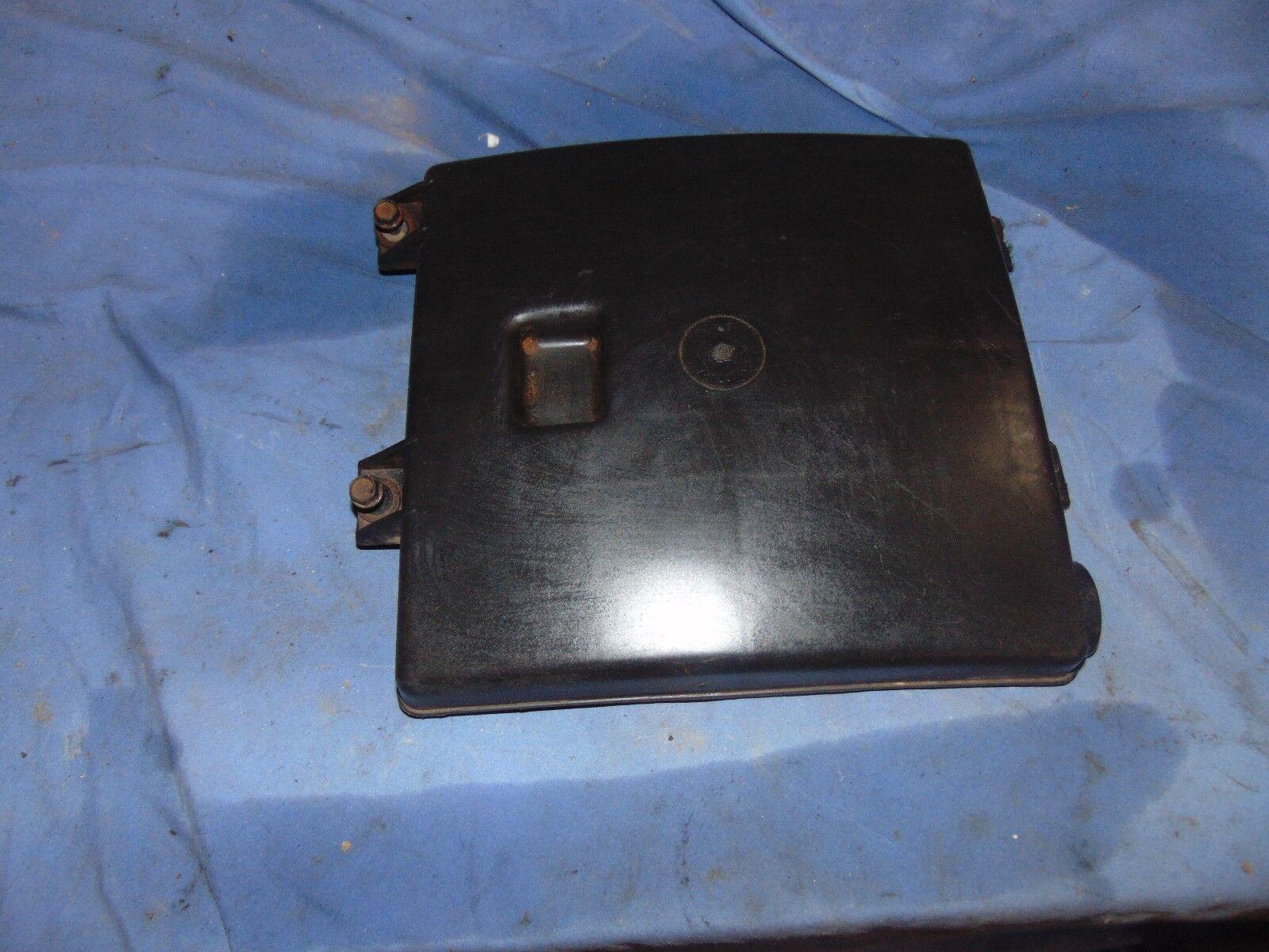2004-2005 buick rendezvous engine computer ecm pcm ecu tray box cover lid  2004-2005
