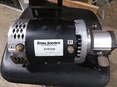 Total Source Sym1500 36vdc Motor W Gp-f20-10-s9-a Hydraulic Pump