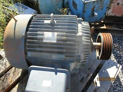Electric Motor 75hp 1750rpm 365t 460v Cast Iron