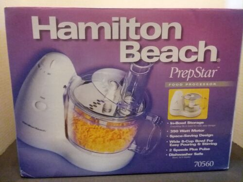Hamilton Beach PrepStar 8-Cup Food Processor White 70550r