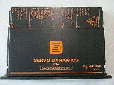 Servo Dynamics 1525-bl-539 Dyna Drive Brushless Servo Drive