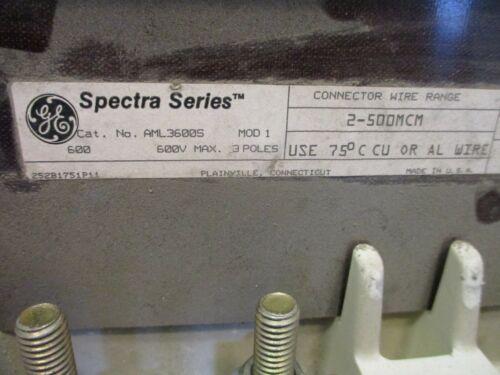 GE AML3600S, Mod 1, 600 Amp, 600 Volt, 3 Pole, Main Lug Module for GE Spectra