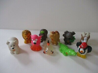Fisher Price Little People A-Z Zoo Figures Toy Lot