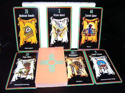SEALED BRAND NEW! NATIVE AMERICAN SACRED PATH CARD & BOOK ORACLE SELF-DISCOVERY