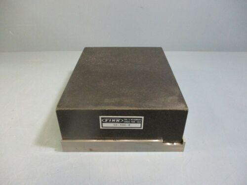 Finn Granite Precision Block 50-406-8 New