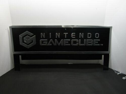 Nintendo Gamecube Kiosk Topper Sign Metal