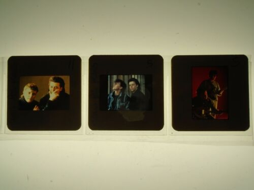 TEARS FOR FEARS CURT SMITH POP COLOR SLIDE/TRANSPARENCY LOT promo movie photo