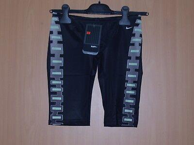 Nike Badehose lang schwarz lange Schwimmhose Jammer Pant 164 oder 2 neu