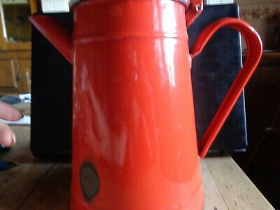 Vintage Enamel Large Coffee Jug