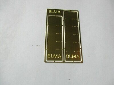 """Atlas  #BLMA4500 Grab Iron Drill Template For 15"""", 18"""", 20"""", 24""""  HO-Scale"""