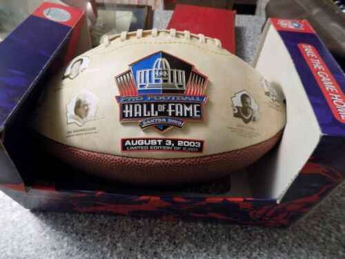 Class of 2003 Hall of Fame Commemorative full size Football