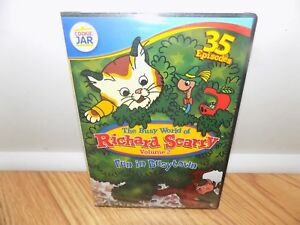 The Busy World of Richard Scarry: Fun in Busytown (DVD, 2011, 4-Disc Set) NEW
