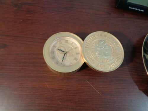 Vintage Farmers New World Life Insurance Group  Clock RARE Made in Japan