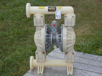 Versa-matic E2ka Kynar Diaphragm Pump 2 Teflon E2ka5t5t9