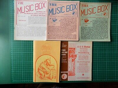 Music Musical Box Society Magazines Polyphon Organette 10th Anniversary Suppleme