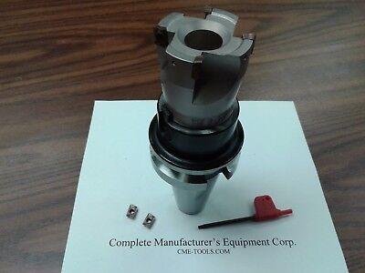 2 90 Degree Indexable Face Mill Shell Mill Bt40 Arbor Sandvik 506-sdvk-2