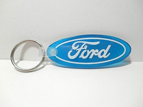 FORD BLUE OVAL RUBBER KEY CHAIN - DON REID FORD MAITLAND, FLORIDA ADVERTISEMENT
