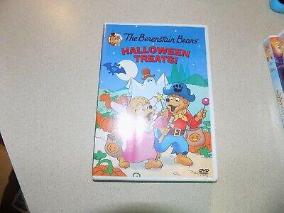 Berenstain Bears: Halloween Treats (DVD, 2009) EUC (Berenstain Bears Halloween Dvd)