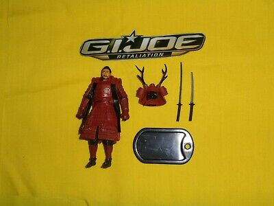 G.I.JOE Retaliation Action Figure: Budo, Swords, Figure Stand  * New*