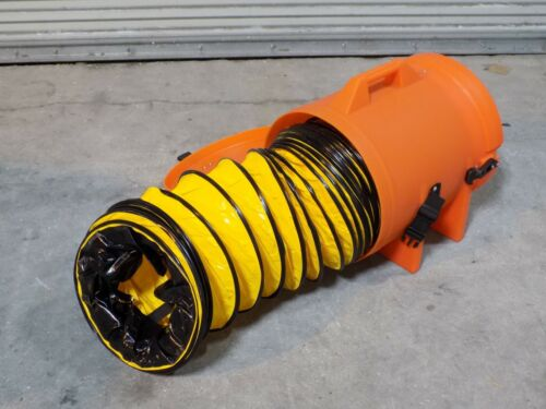 """Allegro 12"""" Plastic Canister w/ 25 Ft. Ducting 9543-02"""