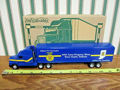 1995 Indiana FFA Farm Progress Show Freightliner Semi By Ertl 1/64th Scale