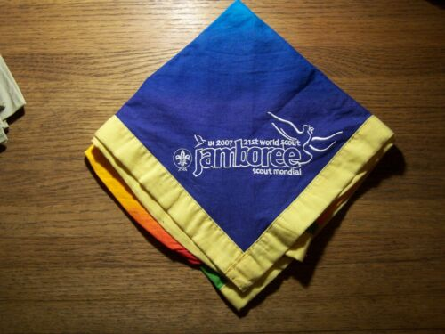 2007 World Jamboree Participant Neckerchief