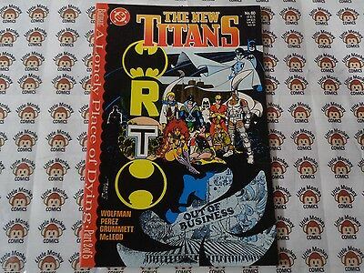 New Teen Titans/New Titans (1984) DC - #60, Lonely Place of Dying Part 2, - Teen Titans Shoes