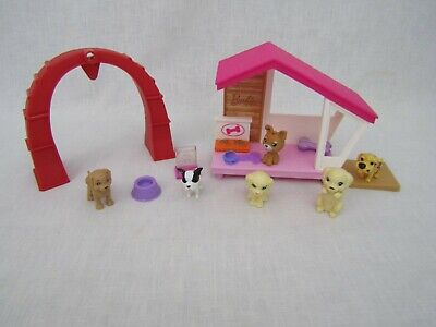 Barbie Puppy Dog Play House AccessoriesPets Dish Bowl Pillow