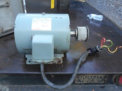 Hobart 4246 Hd Meat Grinder Motor And Pully