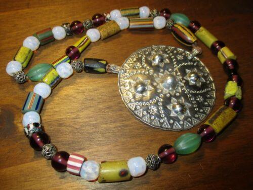 Viking style Mani Moon God Norse necklace 999 silver pendant amulet Godess