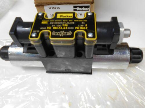 Parker Hydraulic Solenoid 5000 psi  24VDC D1VW004CVJGJ7B